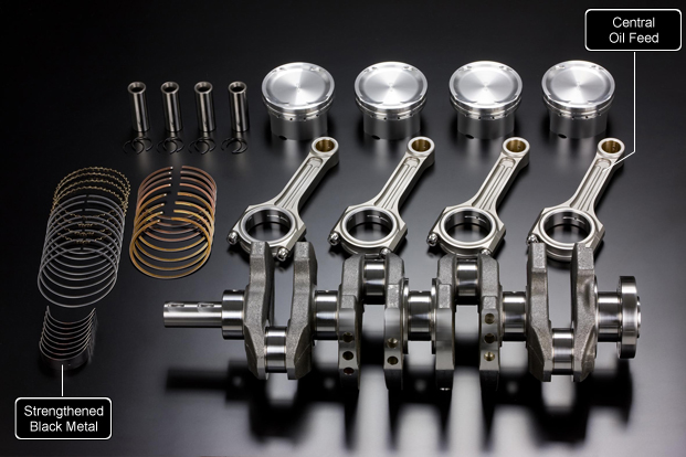 TODA Racing 2.2 and 2.3-litre stroker kits for Evo X