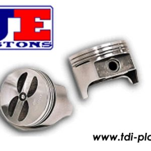 Set of JE forged high compression pistons