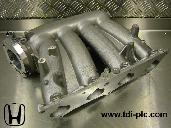 Honda RBC Intake Manifold - Including ported throttle body adapter