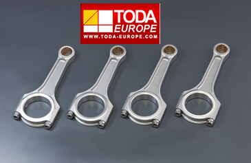 Toda Racing Connecting Rods - 'I' Beam for Stroker Kit
