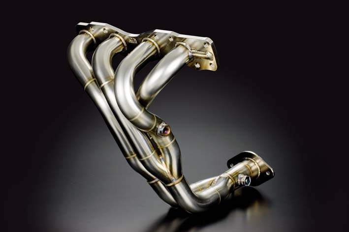 TODA Racing exhaust manifold and system for the Suzuki Swift Sport