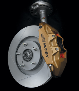 MUGEN Honda Civic Type R FN2 Advanced Complete Brake system