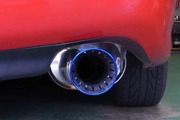 HKS Super Turbo Muffler performance exhaust for Mazda RX-7