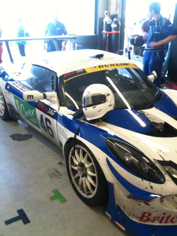 Britcar 24 hours success for TDi engineered Motionsports Lotus Elise