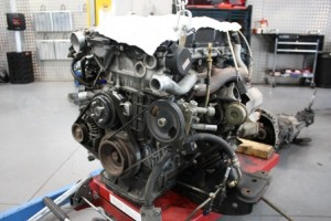 Nissan SR20DET forged Engine Build