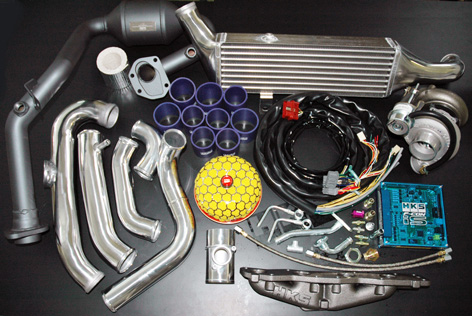 Suzuki Swift Sport HKS bolt on turbo kit