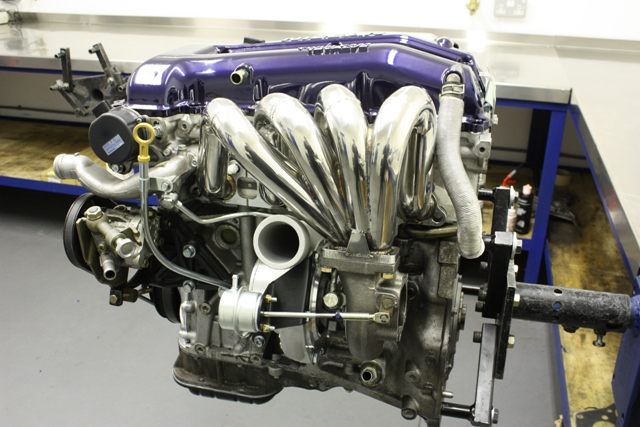 Nissan SR20DET High Performance Engine Build (part 2)