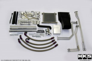 HKS DCT transmission oil cooler for Nissan GT-R R35