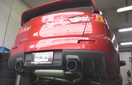 Mitsubishi Lancer Evo X High Performance Exhaust