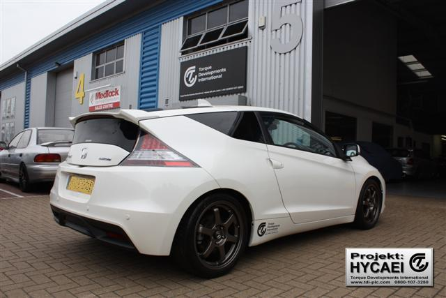 Honda CR-Z - Turbocharger Installation
