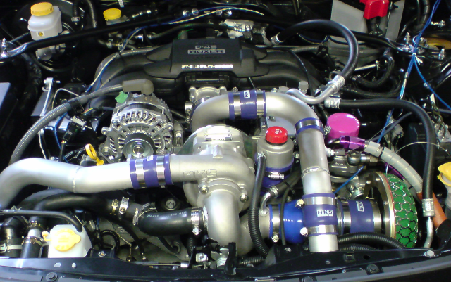 HKS Supercharger System for Toyota GT86 and Subaru BRZ