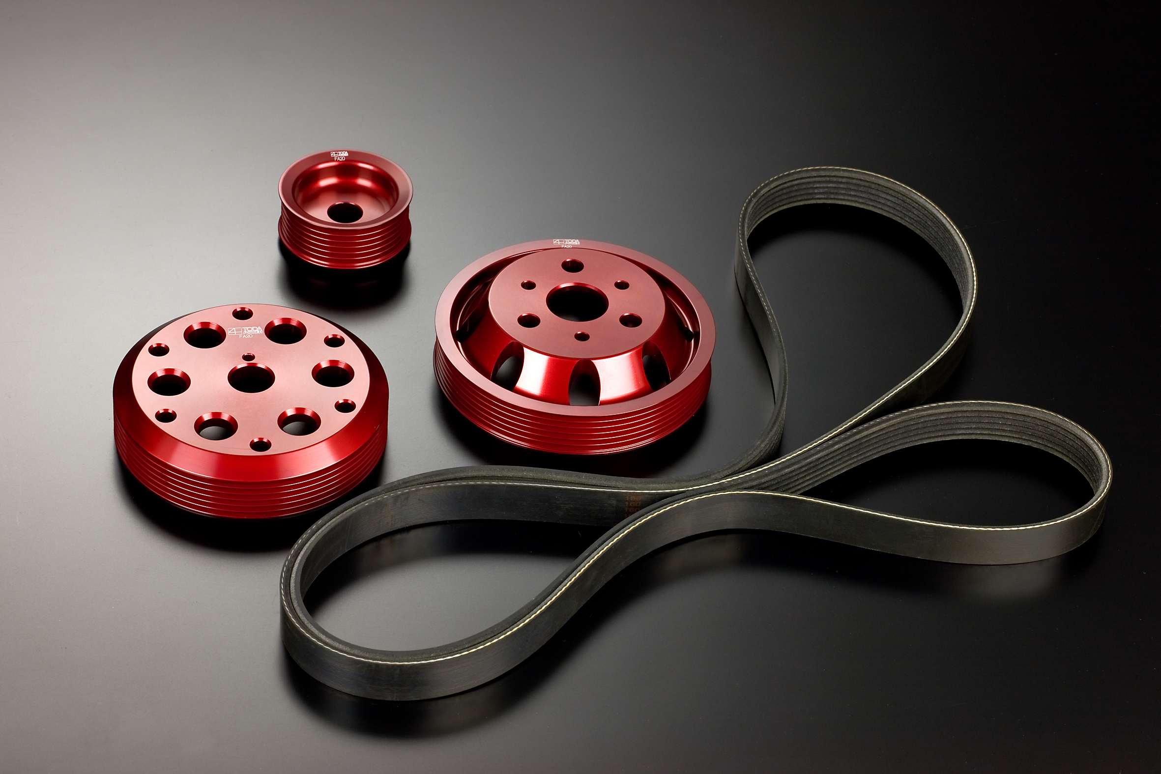 Toda Racing Lightweight Pulley Kit for GT86 and Impreza BRZ