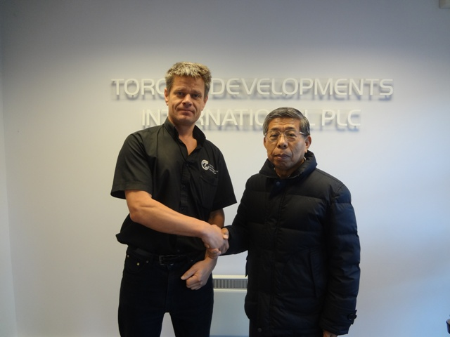 Torque Developments International Receives HKS's Mr Hasegawa