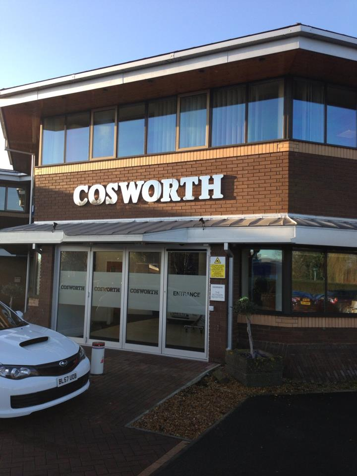 Cosworth Factory Tour