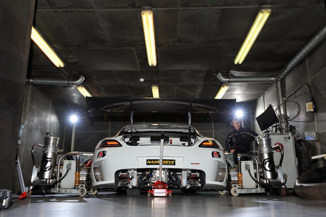 chassis dyno and test cell hire