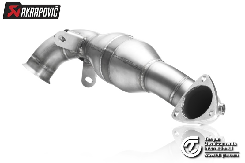 AKRAPOVIC Down Pipe - Stainless Steel (Cooper S R56, Cooper S Cabrio R57 & Cooper S Coupe R58)