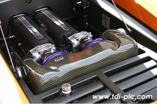 Gruppe M induction System for Lamborghini Gallardo
