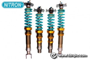 Toyota GT86 Nitron NTR R1 suspension