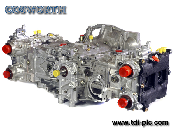 Cosworth Longblock Assembley > EJ25 2.5ltr - Forged Pistons, Rods, OEM Crank, CNC Heads & KK3920 Cams (8.2:1cr ~ 04-06)