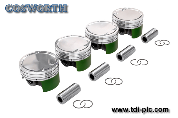 Cosworth Forged Piston Kit - 86.5mm (8.5:1cr) SR20DET